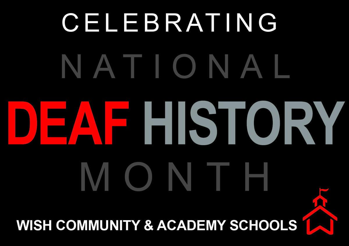 Deaf History Month Logo