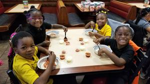 JL Lomax Students Lunch at Cici's Pizza