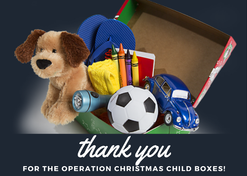Operation Christmas Child Collection Thumbnail Image