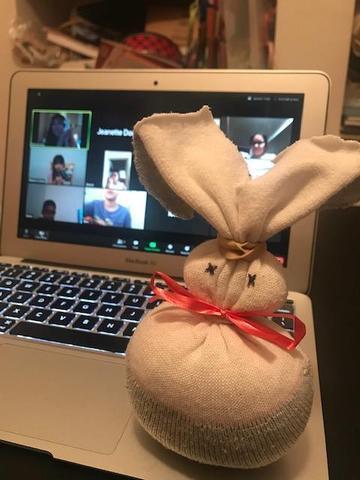 sock bunny 1