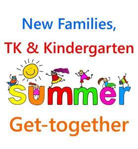 TK/Kindergarten & New Family Social 8/20/21