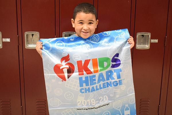 D124 students complete Kids Heart Challenge Thumbnail Image