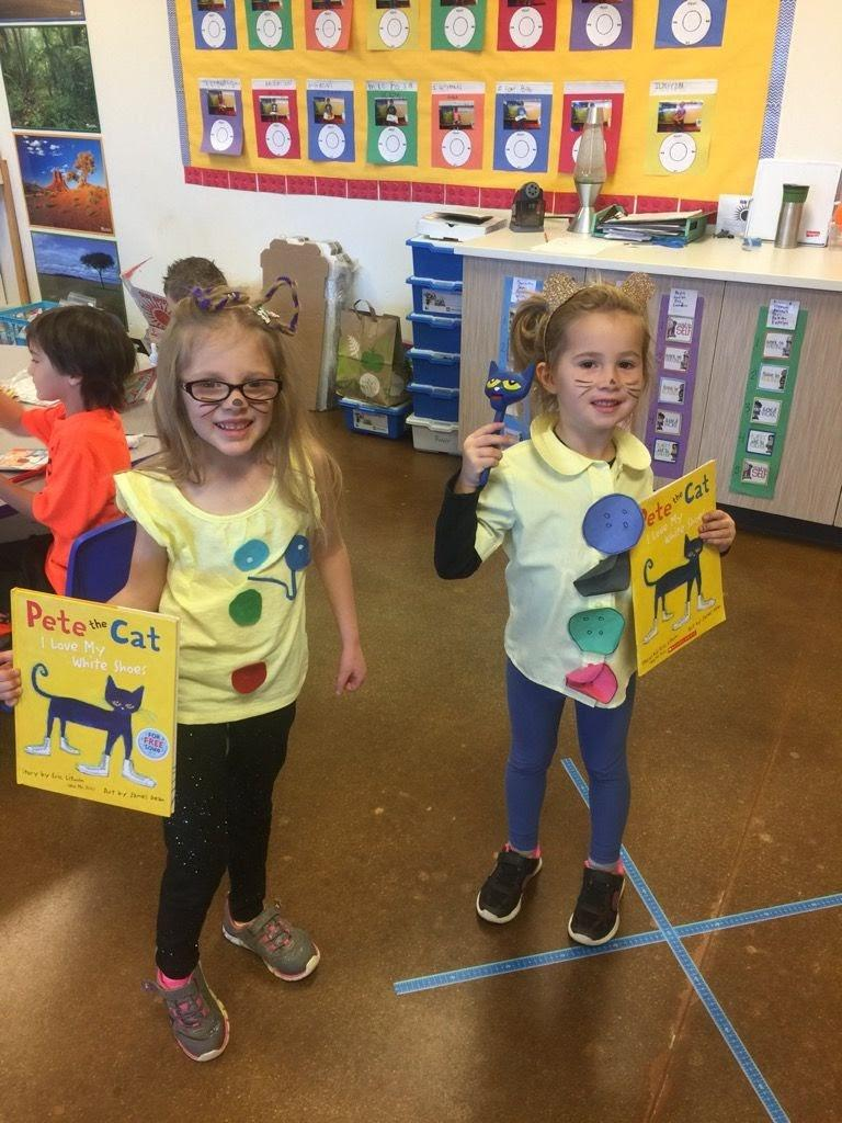 Dressing as our favorite book characters