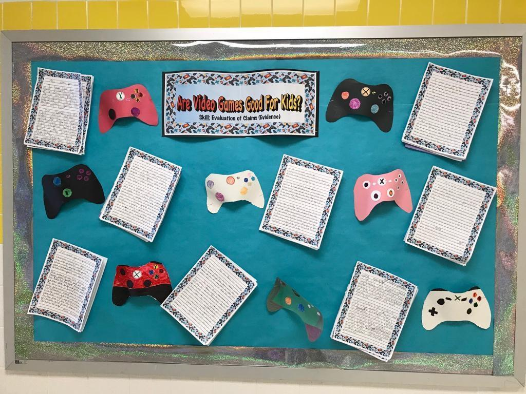 are video games good for kids writing activity display