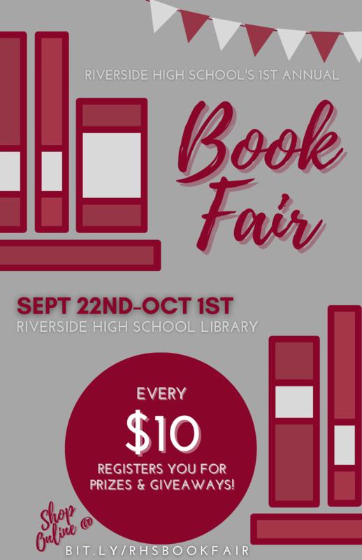 RHS Book Fair Featured Photo