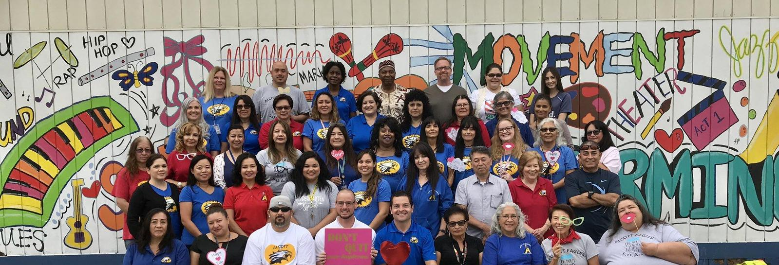 Alcott Elementary staff would like to remind our Eagle Family and extended PUSD Family to SOAR and Don't Quit!