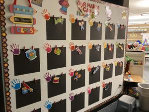 Kinder classroom