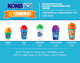 Kona Ice is Coming to MHS Featured Photo