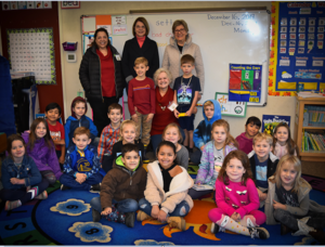 AAUW & First Graders