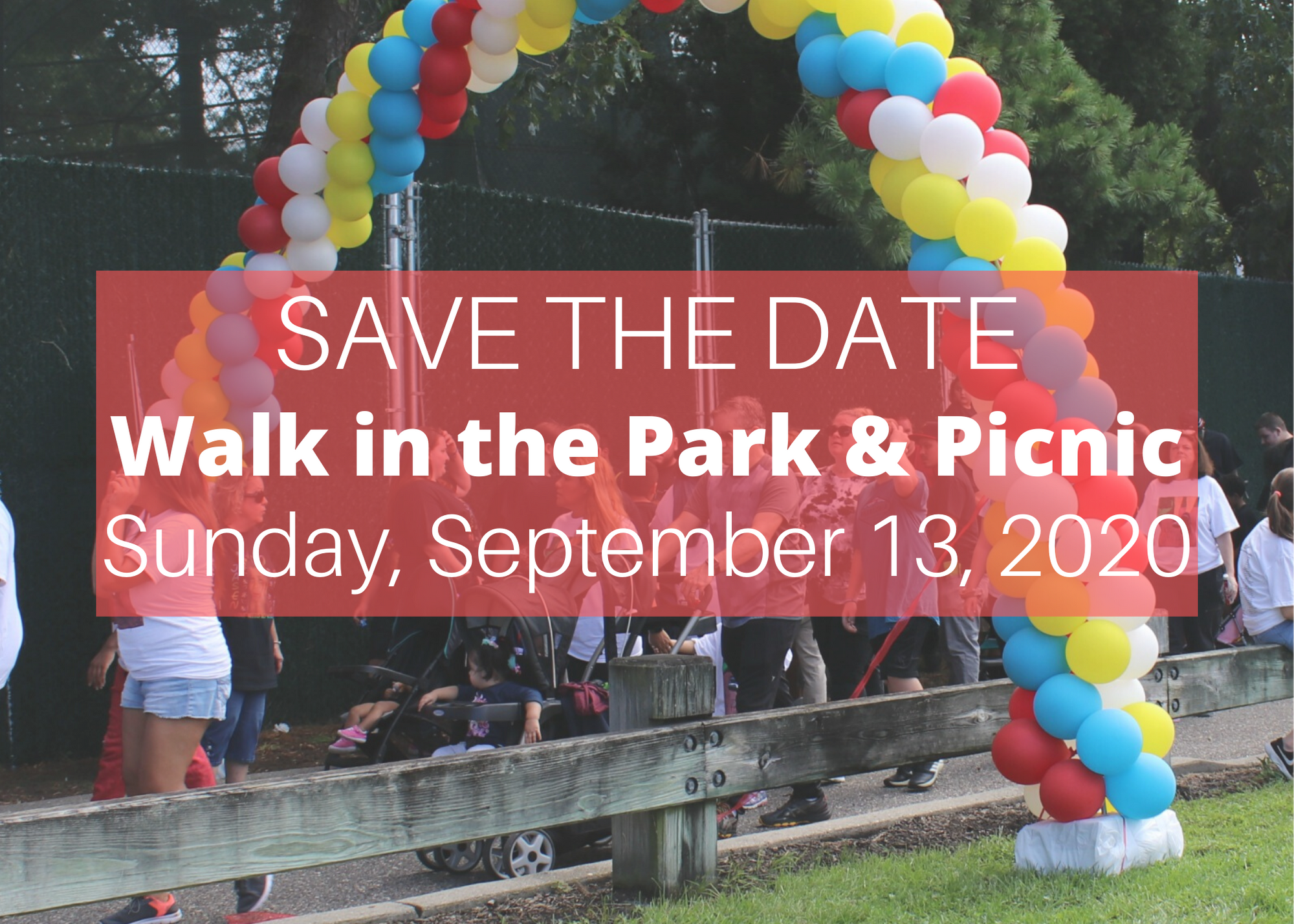 Walk save the date