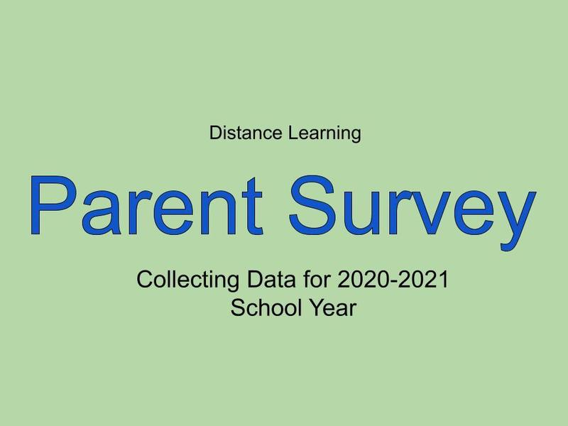Distance Learning Parent Survey Featured Photo