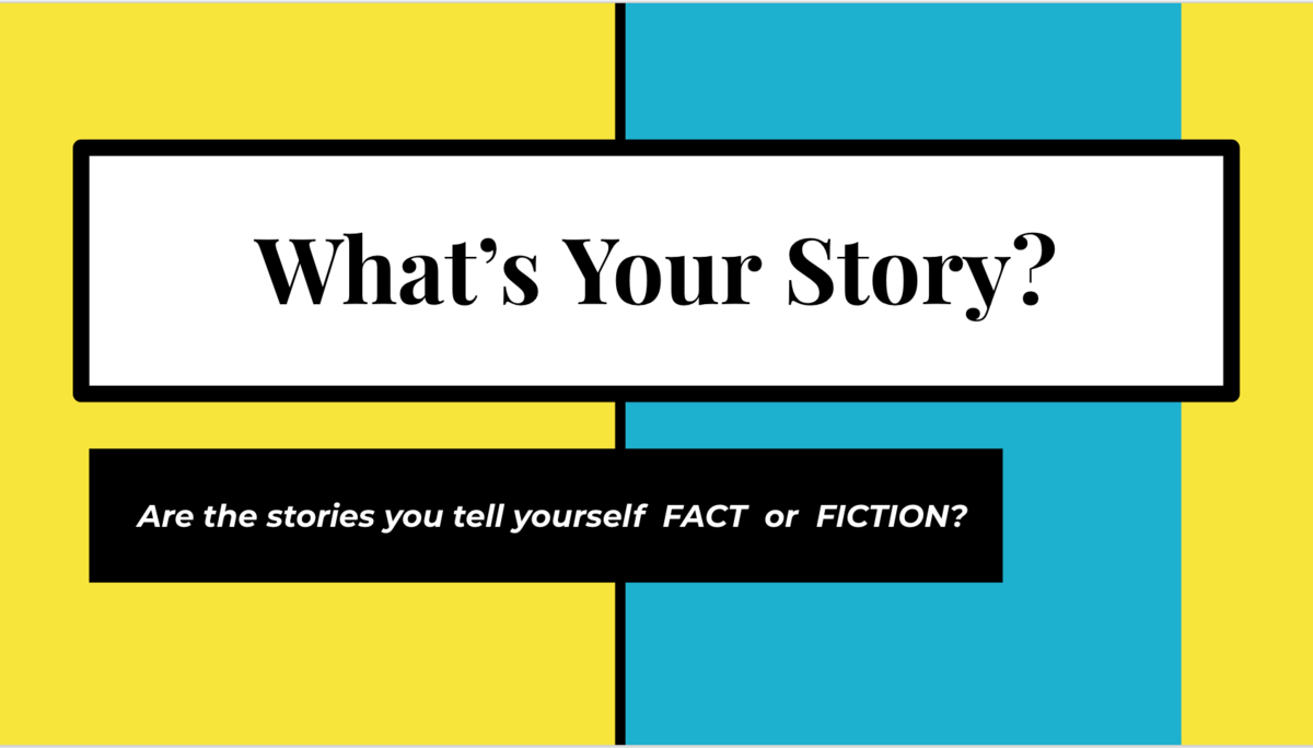 Ms. Dale's Lesson:  What's Your Story?