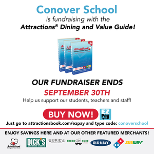 Conover School Attractions Dining and Value Guide