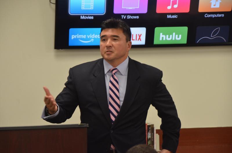 David Beach speaking