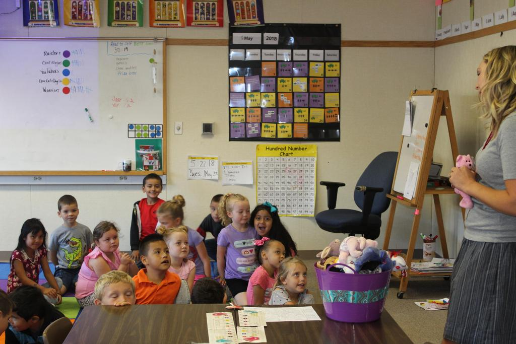 Ms. Bray's 1st Graders