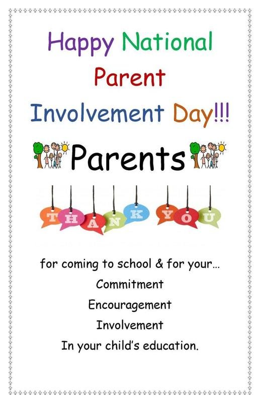 National Parental Involvement Day Featured Photo