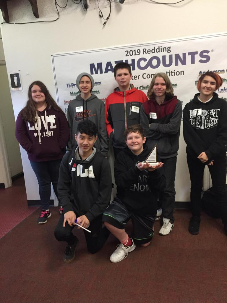 Students in Math Counts competition