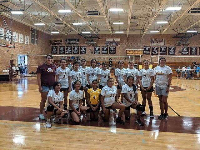 2019 CMS Volleyball Team