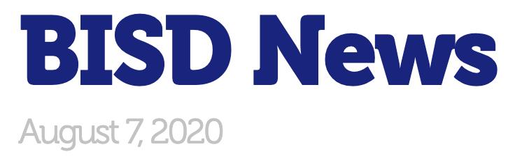 BISD News August 7, 2020