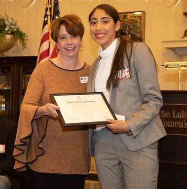 NDHS senior receives DAR Good Citizen Award! Featured Photo