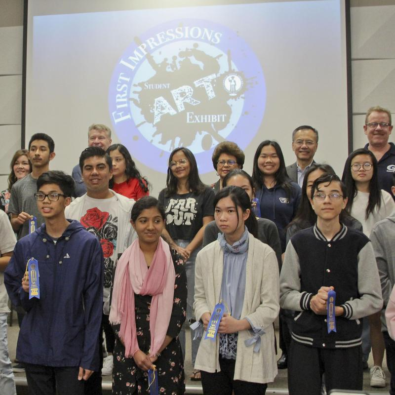 41st Annual GGUSD First Impressions Art Exhibit and Awards Ceremony. Featured Photo