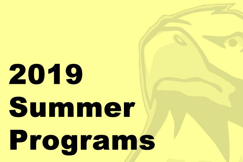 Image 2019 Summer Programs