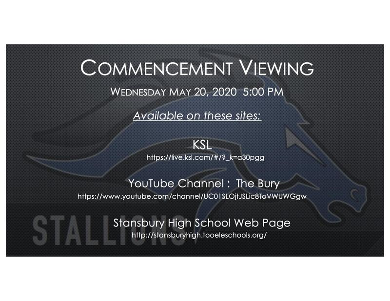 Stansbury High School Commencement Ceremony Thumbnail Image