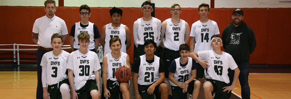 DVFriends JV Boys Basketball Team 2019-20