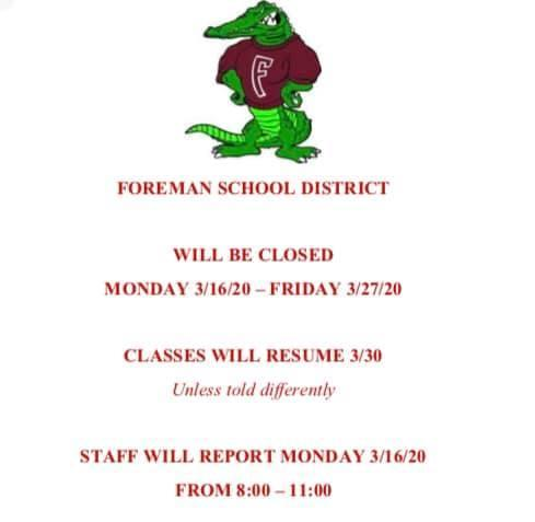 closing announcement