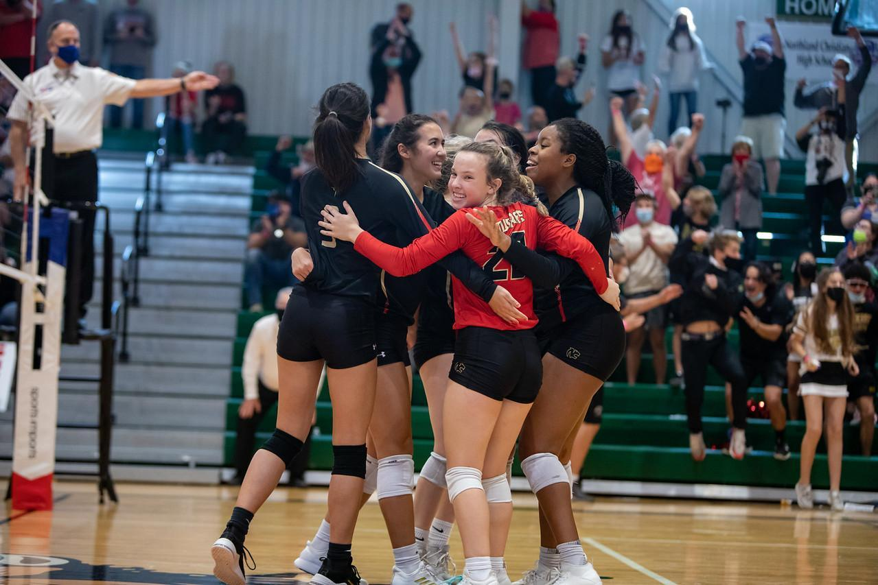 Volleyball State win