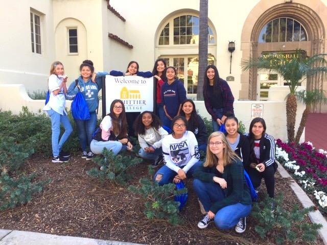 GMS 8th Grade Girls Attend AAUW Science Conference Featured Photo