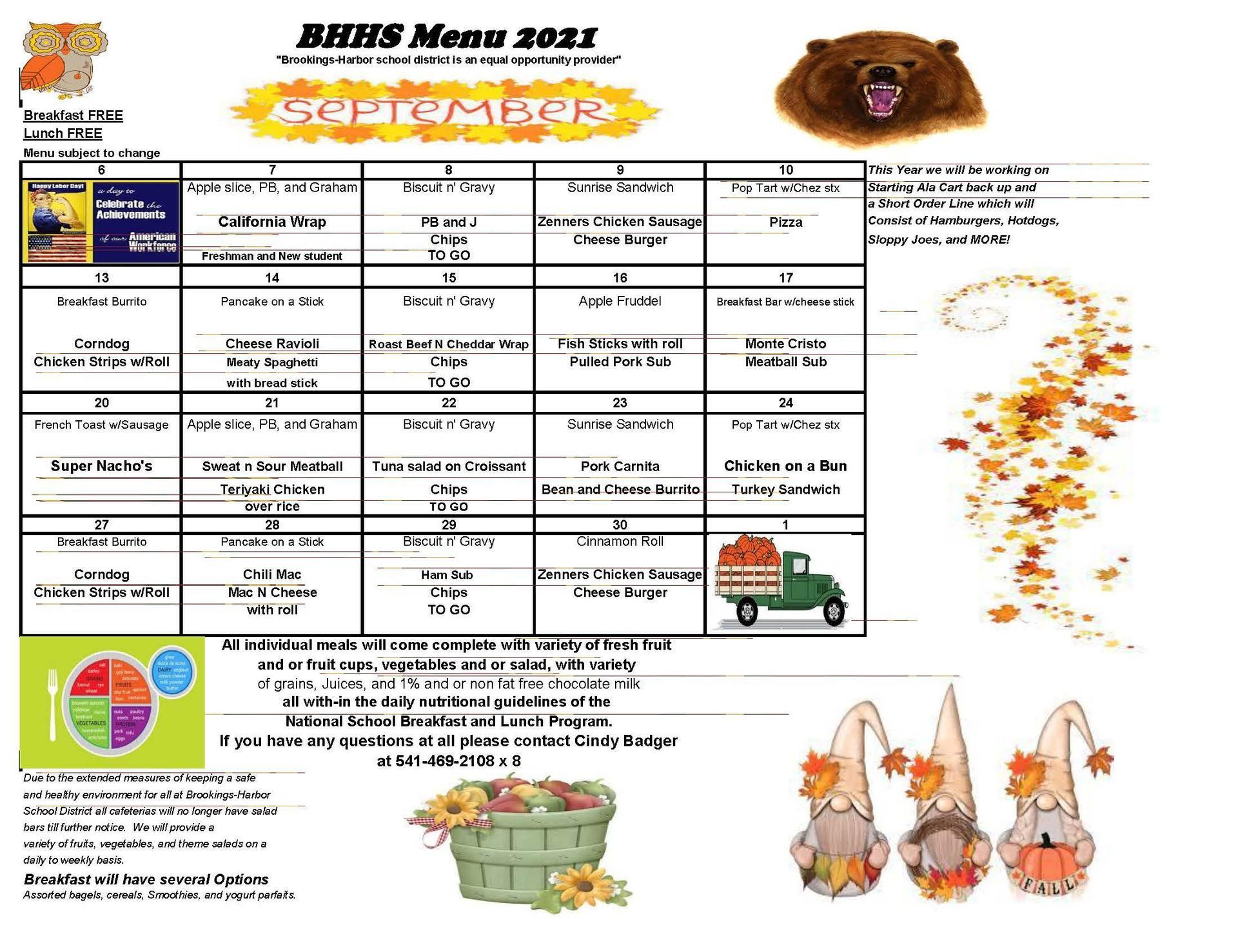 September BHHS