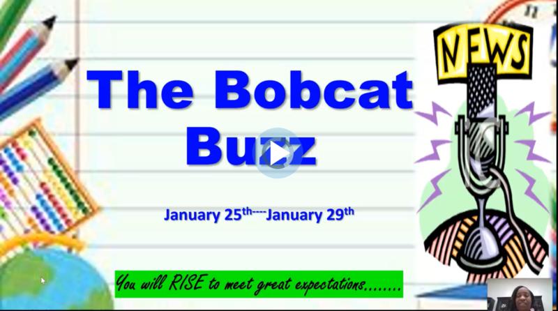 The Weekly Bobcat Buzz! News and Updates 1/25-1/29 Thumbnail Image
