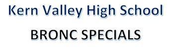 KVHS BRONC SPECIALS Thumbnail Image