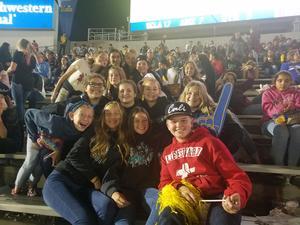 Dartmouth Avid at UCLA Football Game.