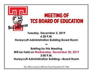 BOE December 3rd meeting