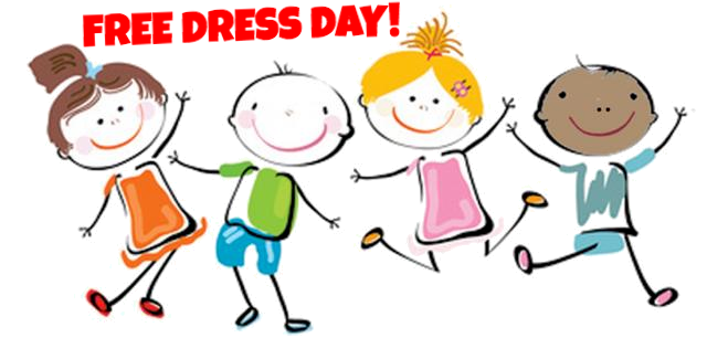 Free Dress Day - Wednesday, May 22 Featured Photo