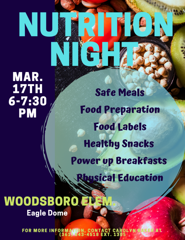 Family Nutrition Night Featured Photo