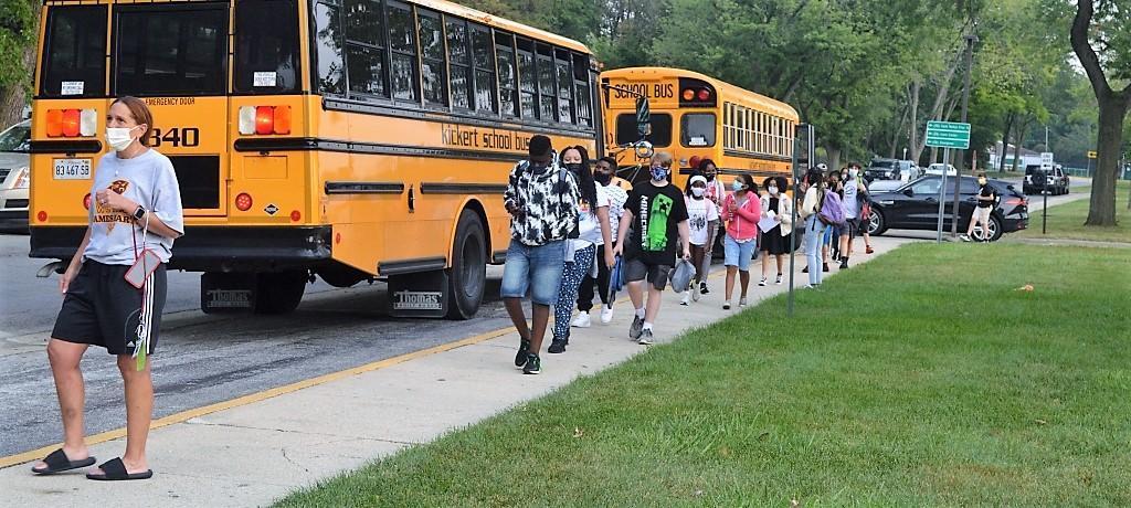 James Hart school buses