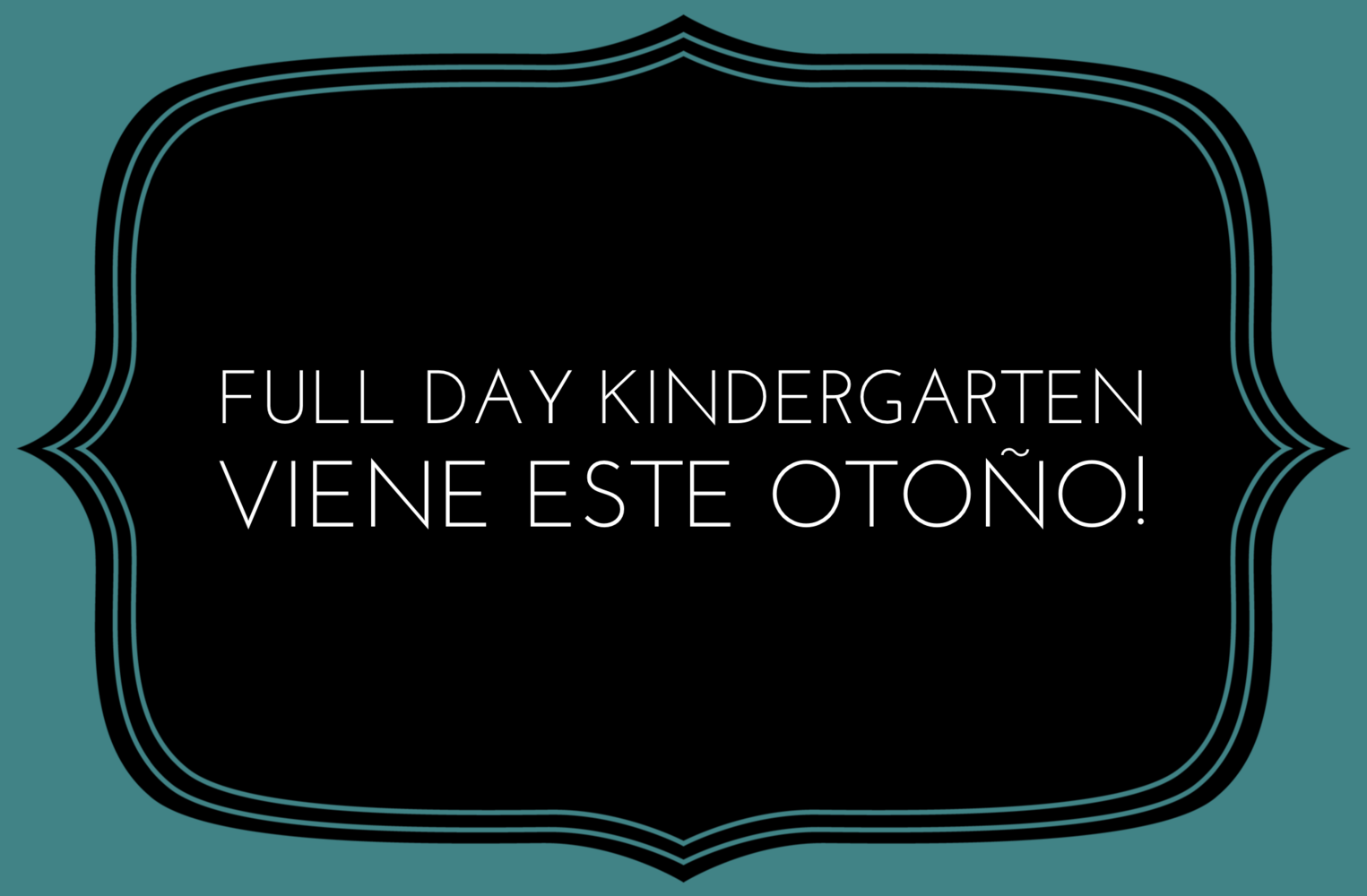 Full Day Kinder in Spanish