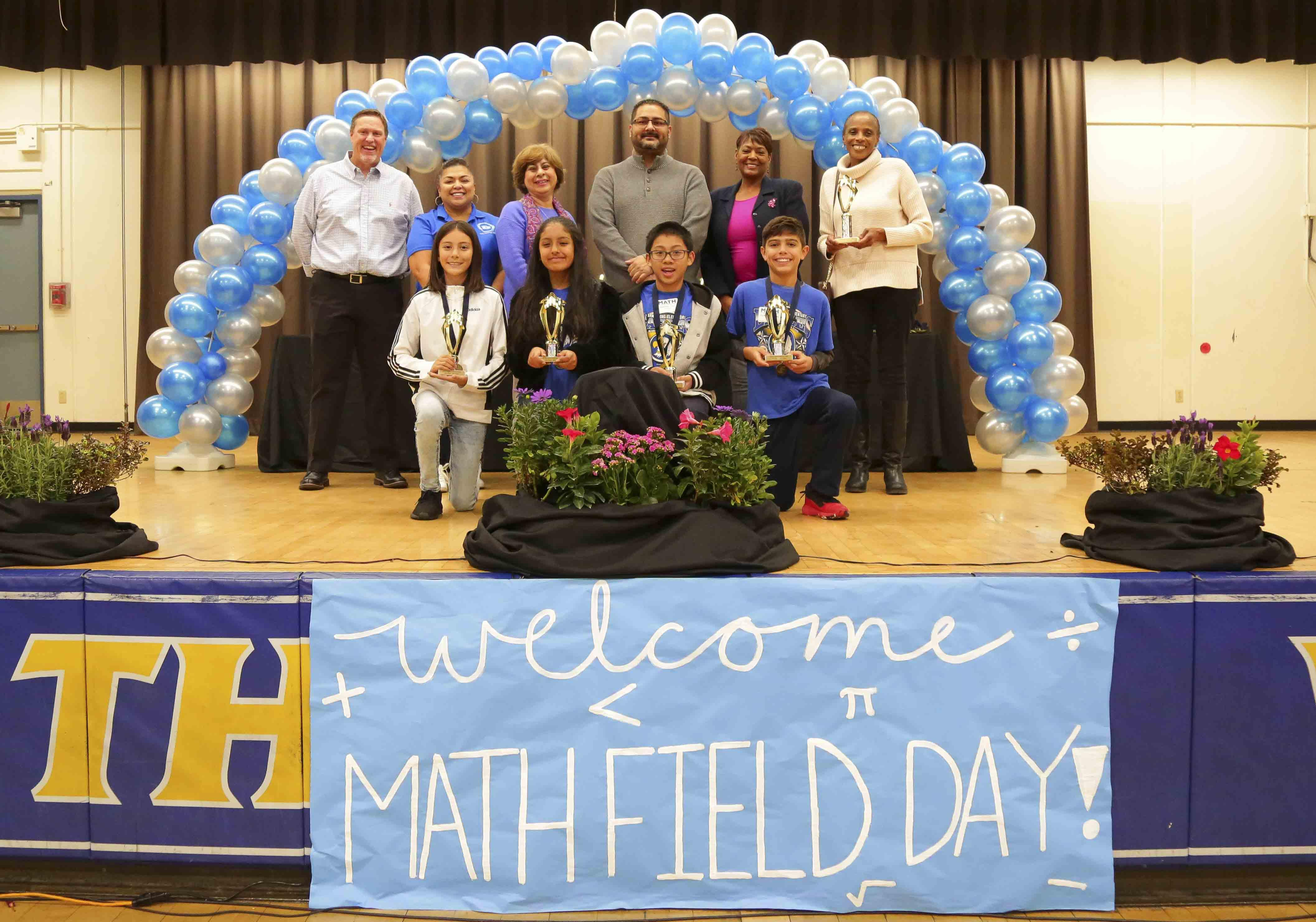 Armstrong 6th Grade students take 2nd Place at the Math Field Day - Congratulations to all of our Eagles that won 2nd Place at the Math Field Day held at Garey High School. We are proud of your academic success!