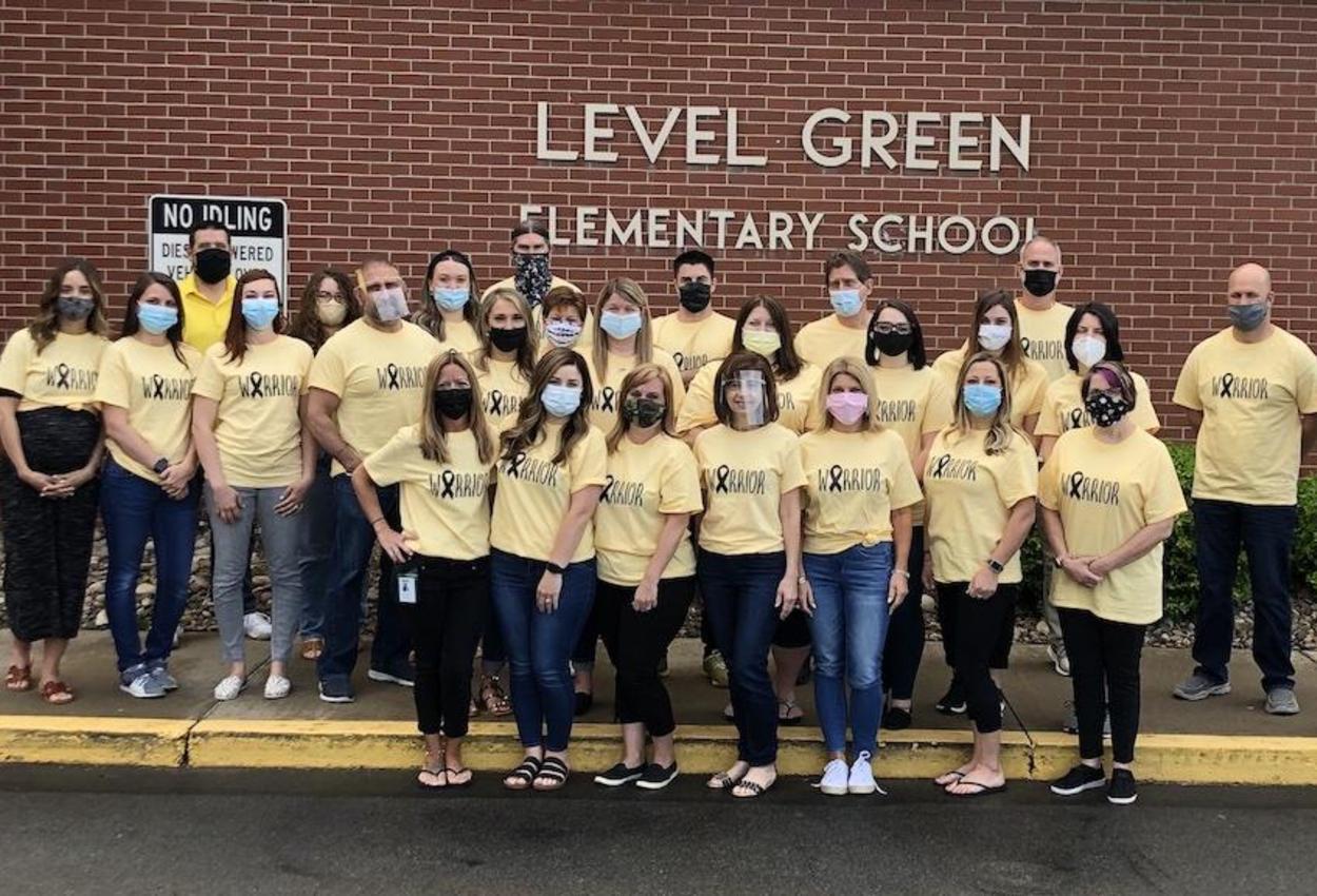 teacher group photo