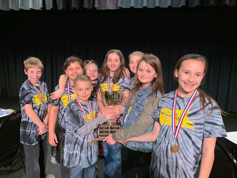 Congratulations to our Battle of the Books team for taking FIRST PLACE in this year's competition! Thumbnail Image