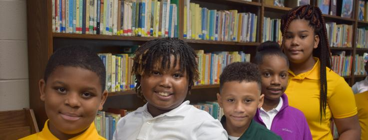 Higgins Middle School first school day 2019