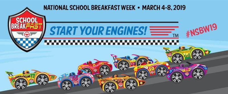 National School Breakfast Week is March 4-8.
