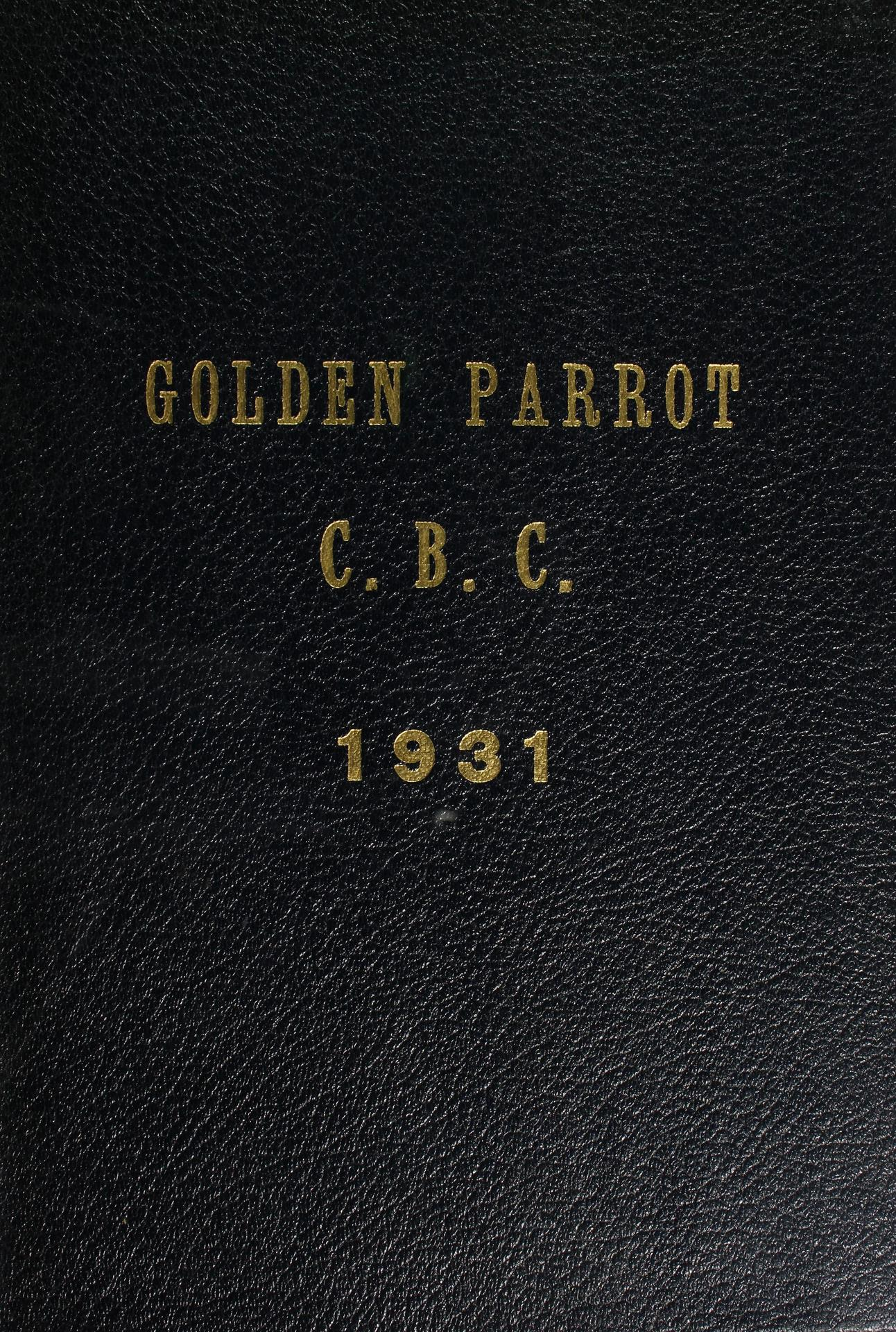 1931 CBC Yearbook