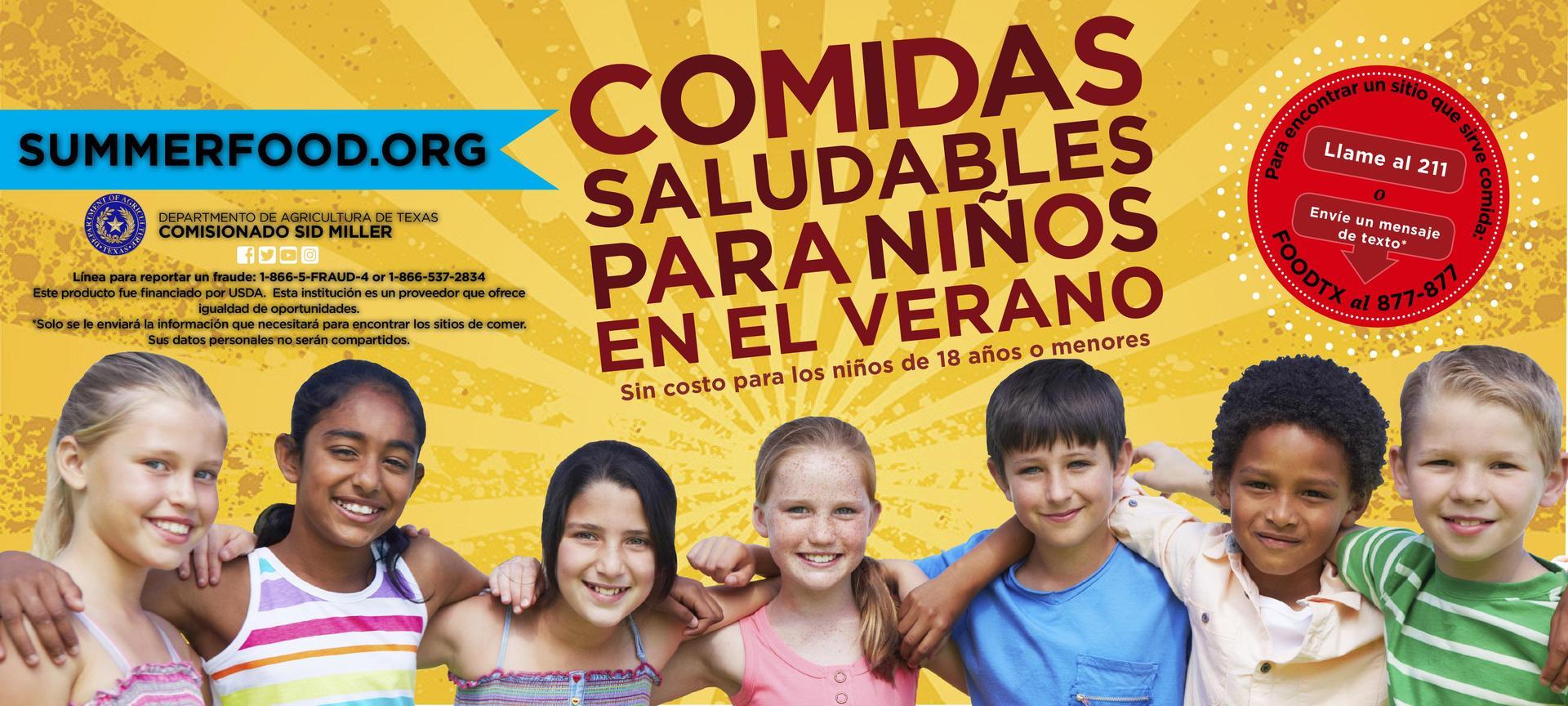 Healthy Summer Meals Spanish Version