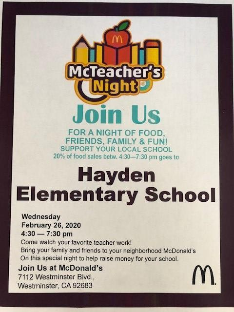 McTeacher Night Flyer