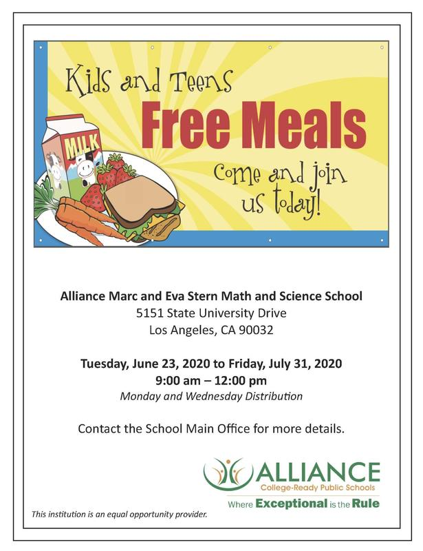 Kids and Teens Free Meals /¡comidas gratis para niños y adolescentes! Thumbnail Image