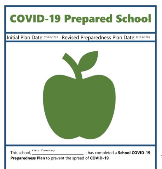 Covid-19 Prepared logo